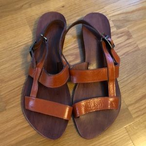 Shoes - Handmade leather sandals NWOT